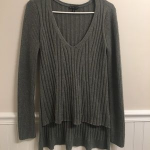 Express Grey Long Sleeve Sweater